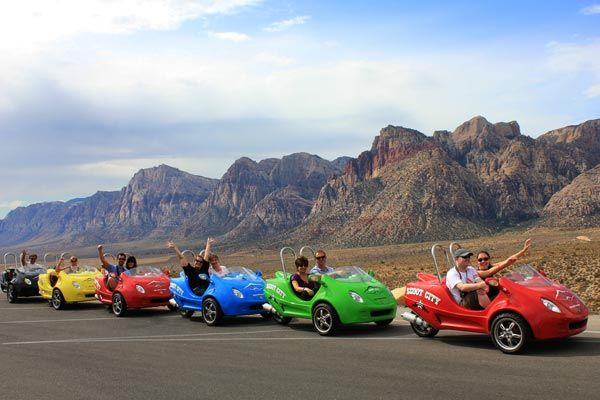 Las Vegas, Scootercars, Red Rock Canyon