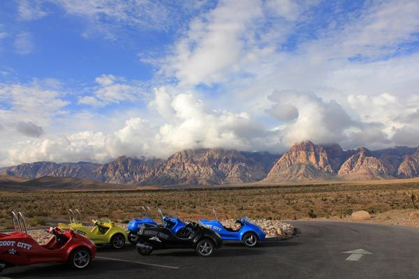 Las Vegas, Scooertcars, Red Rock Canyon