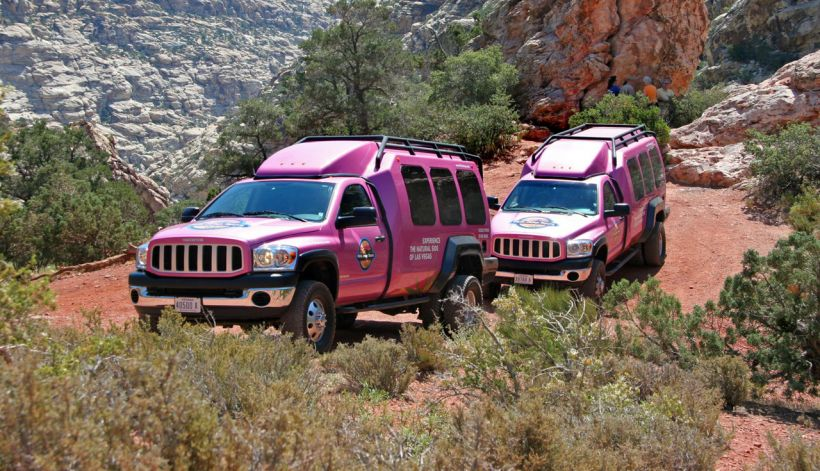 Las Vegas, Pink Jeep Tours, Red Rock Canyon
